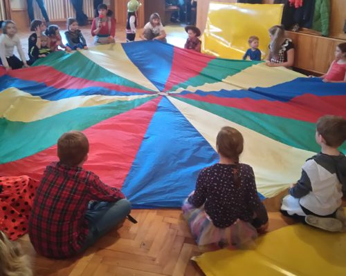 Fallschirm Kinder